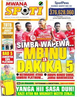 Habari kubwa za Magazeti ya Tanzania leo January 5, 2021