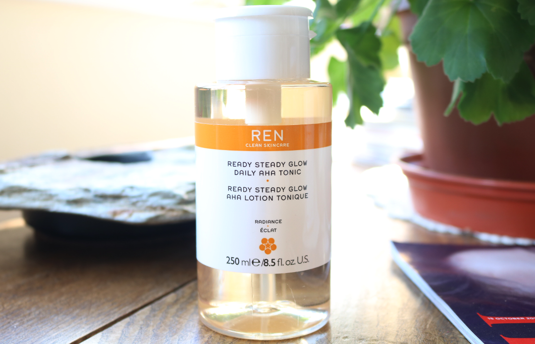 REN Ready Steady Glow Daily AHA Tonic review