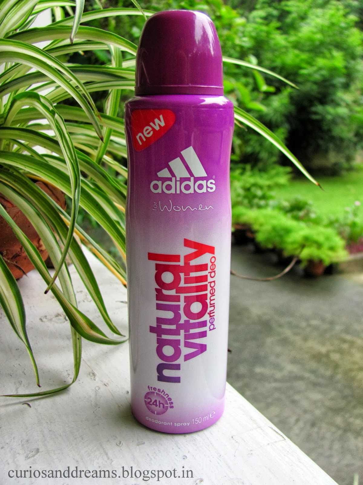 Adidas Natural Vitality Deodorant review, Adidas deo review, Adidas women deo review