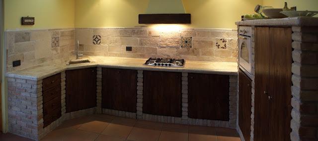cucina-cucina in muratura-arredamento