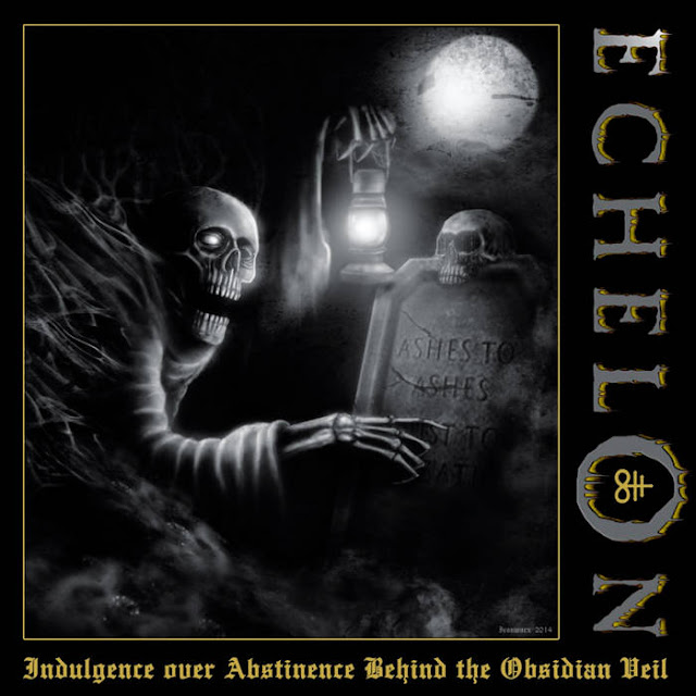 "Echelon - ""Indulgence over Abstinence Behind the Obsidian Veil"" (CD)(Nacional - 2018)(Cianeto Discos)"