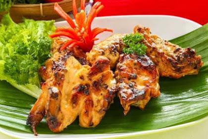 Resep Masakan Ayam Panggang Bumbu Rujak