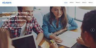 E Learn Blogger template
