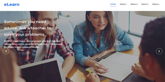 E Learn Blogger template