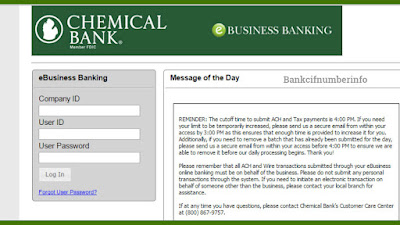 Login with Chemical Bank