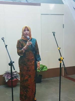 Sambutan Wakil ketua TP PKK Wonosobo Ny. Sudarti