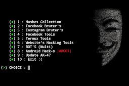Hack Website memakai Termux di Android