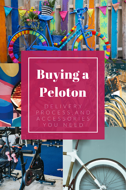 Buying a Peloton pinterest photo