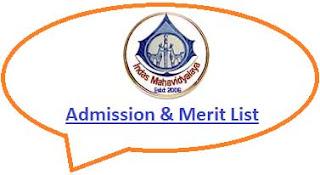 Indas Mahavidyalaya Merit List