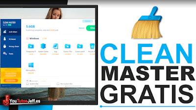 Como Descargar Clean Master Ultima Versión Gratis - Excelente Programa para Limpiar tu PC