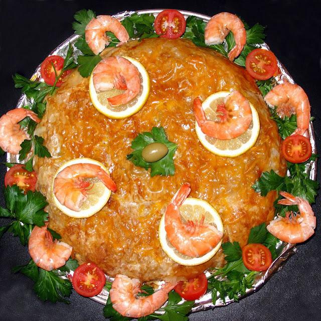 recette bastilla de fruits de mer