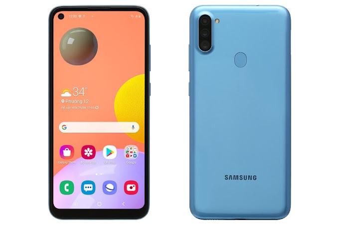 Điện thoại Samsung Galaxy A11 - 3GB/32GB