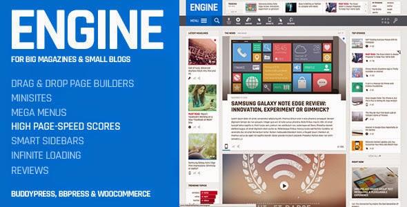 Engine News Magazine WordPress Theme