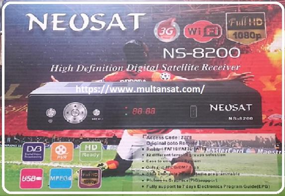 Multan Sat: NEOSAT NS 8200 GX6605 5815 v4 1 SONY OK