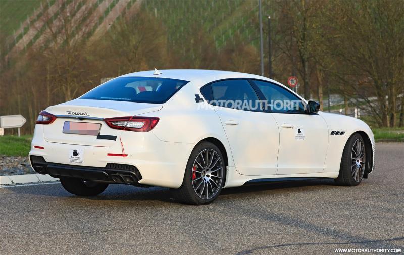 Lộ diện Maserati Quattroporte bản nâng cấp lần 2