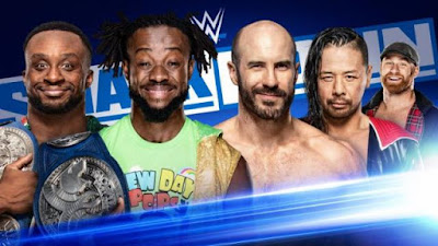 New Day Sami Zayn Cesaro The Bar
