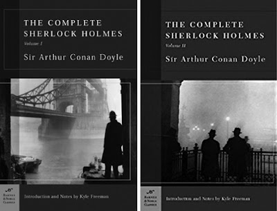 The complete Sherlock Holmes Volume I & II by Sir Arthur Conan Doyle