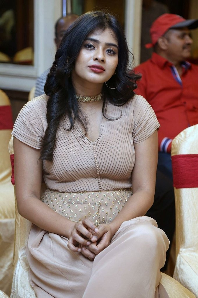 Hebah Patel Stills At Santosham Awards 2017
