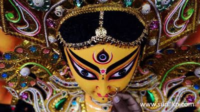durga murti photos