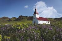 Church in field Photo by Sigurdur Fjalar Jonsson on Unsplash