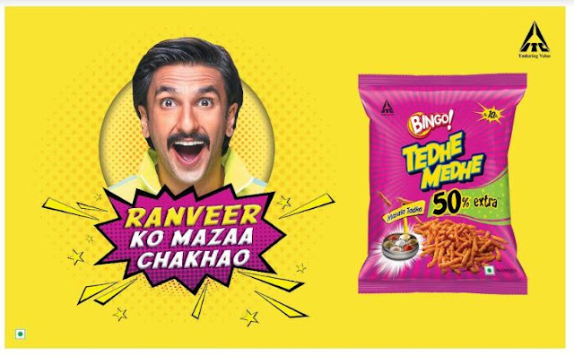 Ranveer ko Mazaa Chakhao with Bingo! Tedhe Medhe