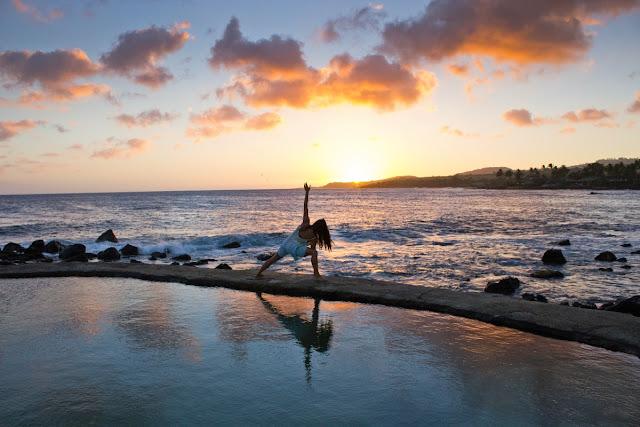 relajación y bienestar meditando