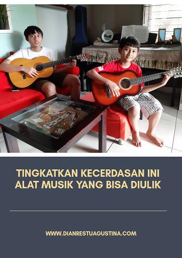 Musik Tingkatkan Kecerdasan Anak