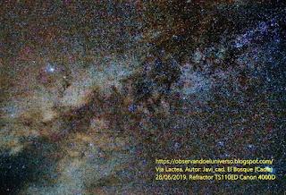 Astrofotografia de la Via Lactea