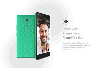 Infinix Hot 4 smart voice