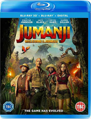 Jumanji Welcome to the Jungle 2017 Eng BRRip 480p 170mb ESub HEVC x265
