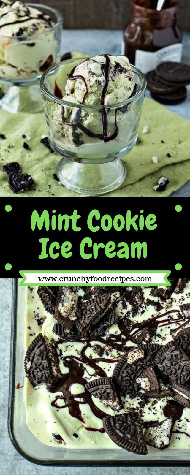 Mint Cookie Ice Cream