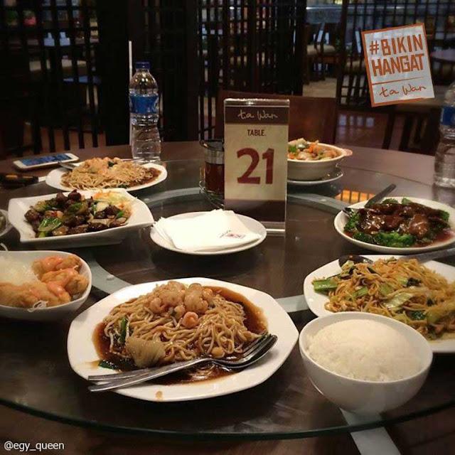 Ta Wan - Restoran Keluarga di Jakarta