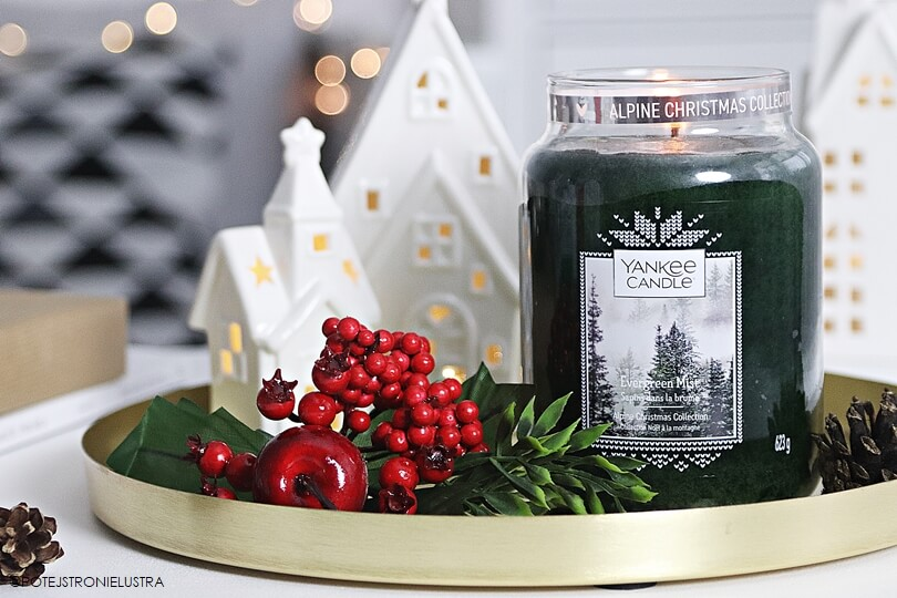 yankee candle evergreen mist recenzja na blogu