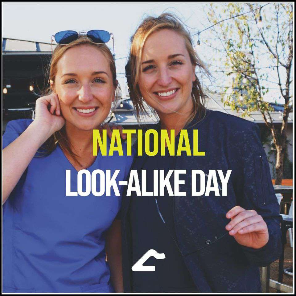 National Look-Alike Day Wishes