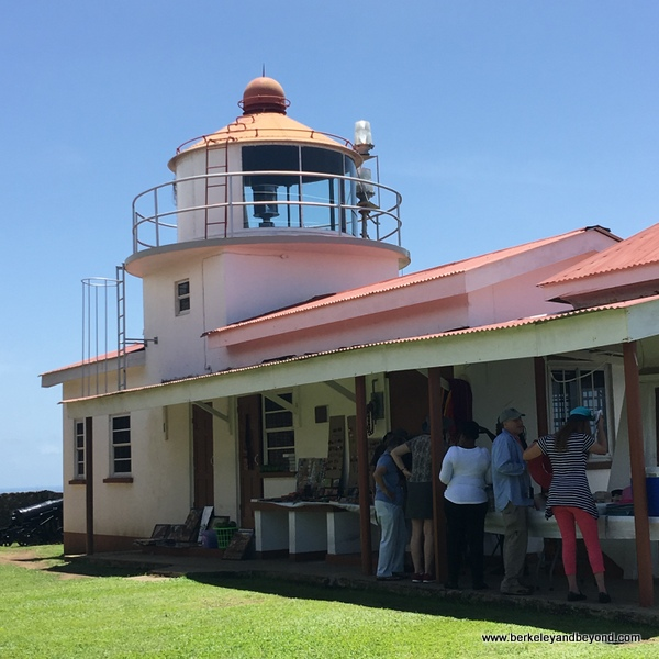 lighthouse at Fort King George in Scarborough, Tobago