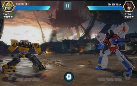 Game Transformers : Pejuang