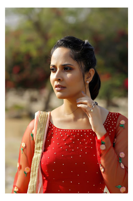 Telugu Anchor Anasuya Bharadwaj Latest Cute Pics Actress Trend