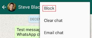 Blokir Kontak