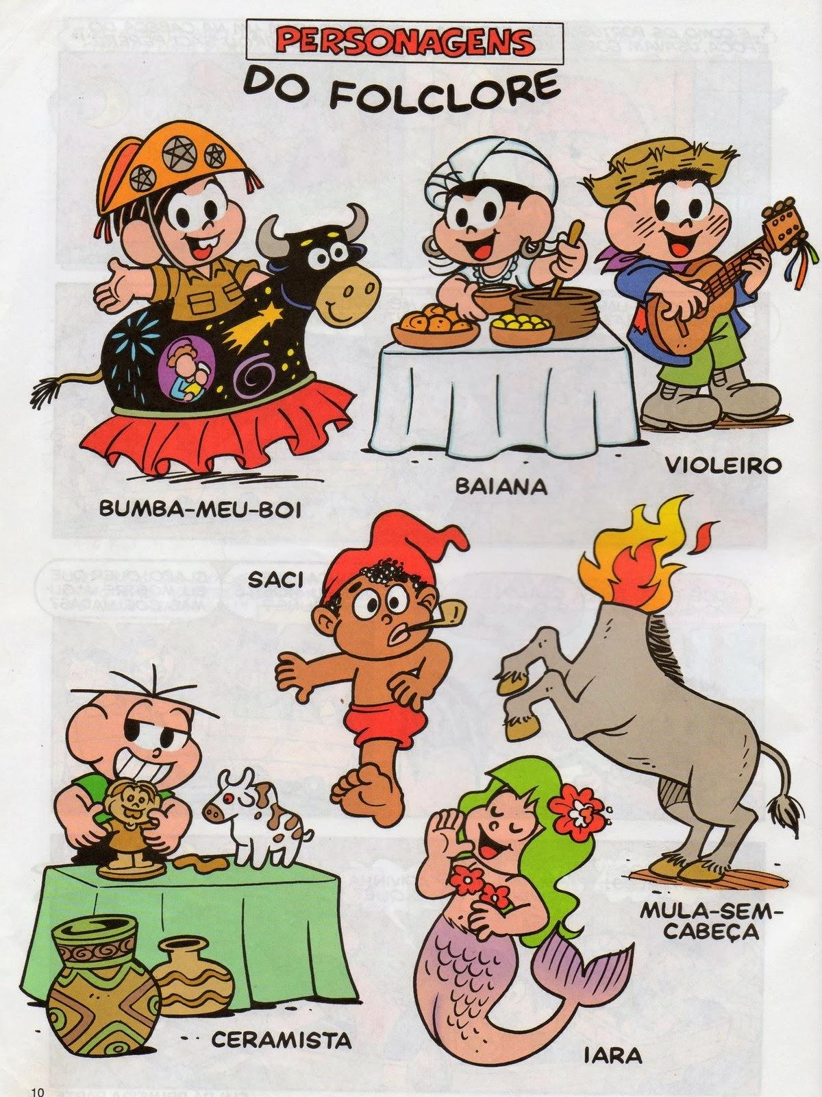 imagens de musicas folclore para colorir