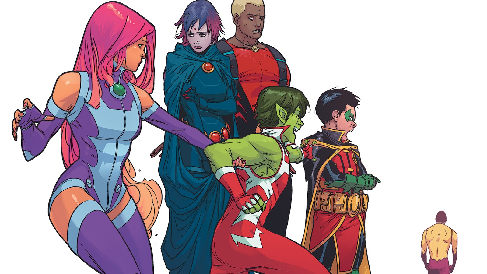 So Teen Titans Is One