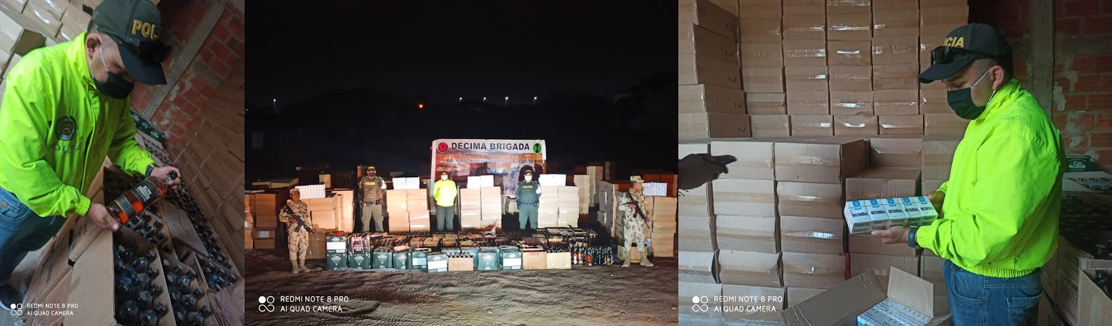 Contrabando por  $600 millones se incautó en La Guajira