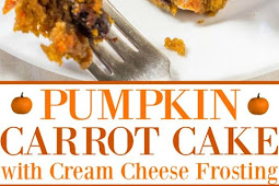 The Best Pumpkin Carrot Cake with Cream Cheese Frosting Recipe
