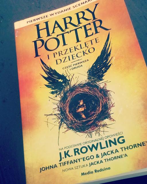 """""""Harry Potter i przeklęte dziecko""""J.K.Rowling,Jack Thorne,John Tiffany"""