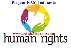 Piagam Hak Asasi Manusia di Indonesia Beserta Penjelasannya Terlengkap