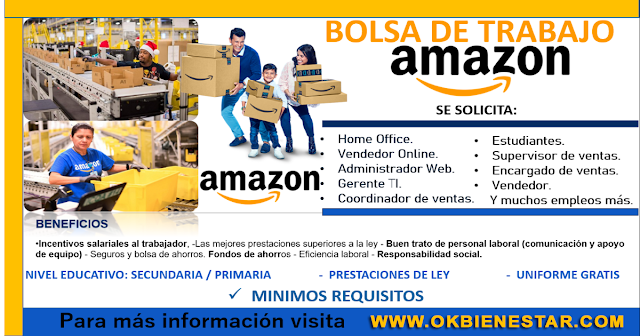 Ofertas Laborales en Amazon