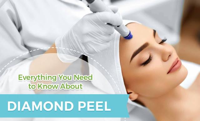 Diamond Peel Perawatan Kecantikan Wajah dengan Berlian Halus dan Bebas Jerawat
