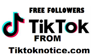 Tiktoknotice com || Tiktoknotice .com || How to get 50,000 free tiktok followers from tiktok notice com
