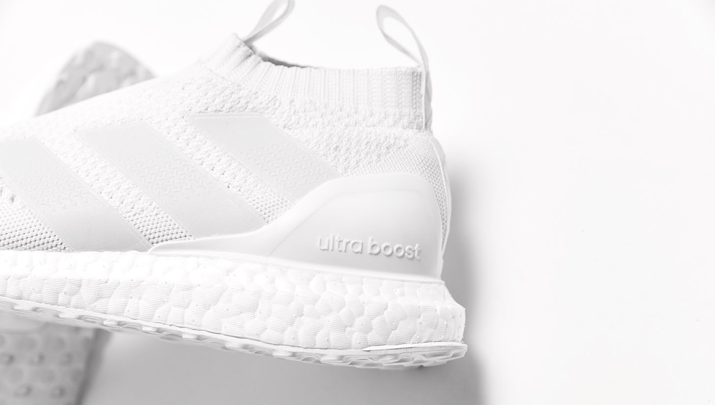 Hot Sale Triple White Adidas Ace 16+ PureControl Ultra Boost Released f7ec150b6