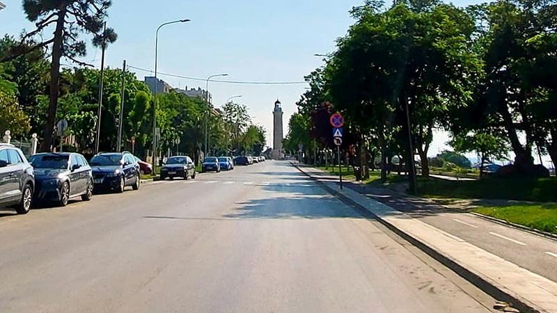 Από 1 Ιουνίου κλειστή για τα οχήματα τις βραδινές ώρες η παραλιακή οδός της Αλεξανδρούπολης
