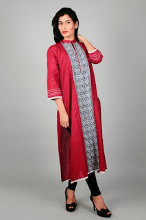 Vaneeza Winter Long Kurti Collection 2014-15